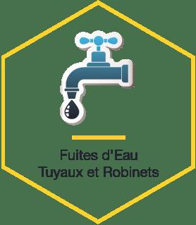 Fuites d'Eau Tuyaux et Robinets