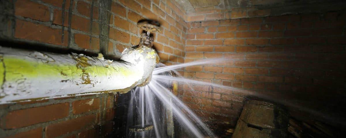 Vérifier une fuite d'eau